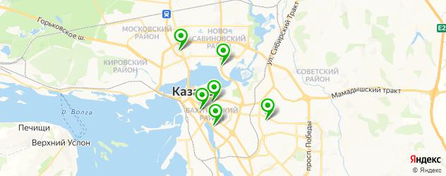 мужская эпиляция на карте Казани