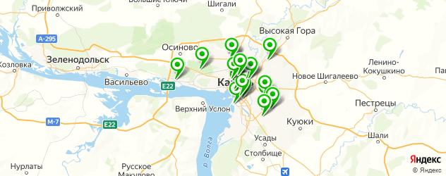детские развлекательные центры на карте Казани