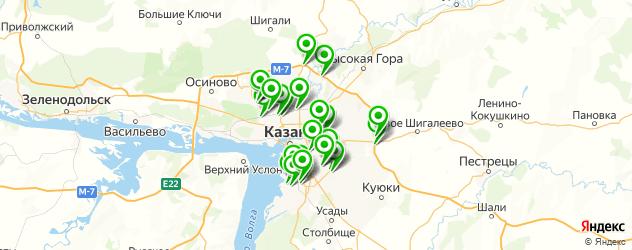 грузовые шиномонтажи на карте Казани