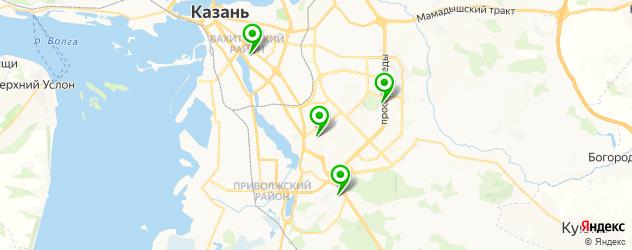 станции переливания крови на карте Казани