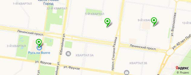 модельные агентства на карте Тольятти