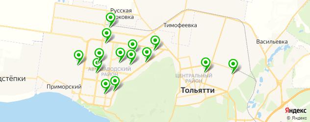 пекарни на карте Тольятти