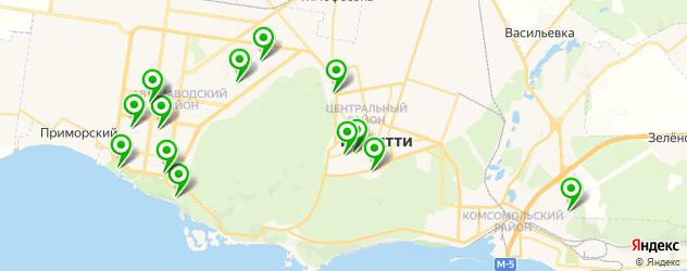 вегетарианские рестораны на карте Тольятти