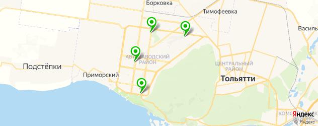 кальянные на карте Тольятти