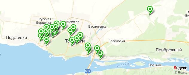 художественные школы на карте Тольятти