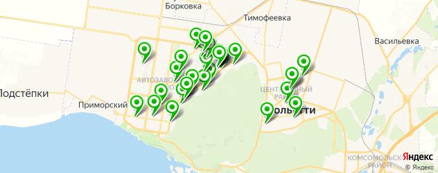 диагностические центры на карте Тольятти