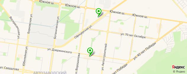 боди-арты салон на карте Тольятти