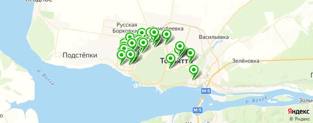 швейные мастерские на карте Тольятти