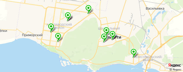 театры на карте Тольятти