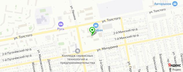 официальные дилеры Хендай на карте Тольятти