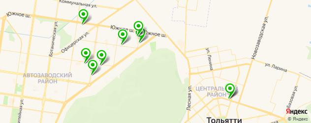 ремонт ноутбуков на карте Тольятти