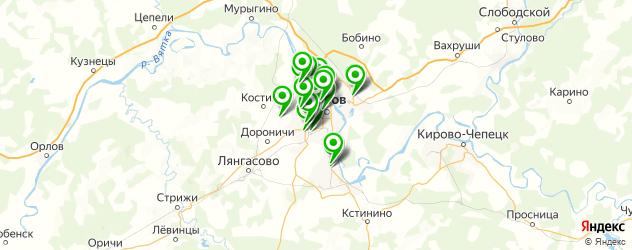 проверка геометрии кузова на карте Кирова