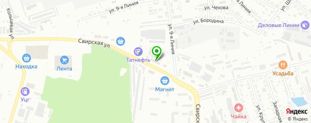 Паназиатская кухня доставка на карте Димитровграда