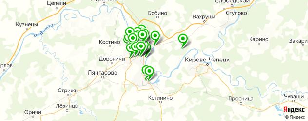 караоке на карте Кирова