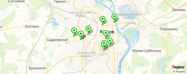 японские рестораны на карте Кирова