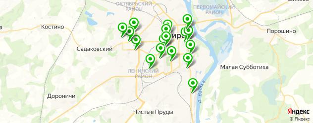 детская игровая комната на карте Кирова