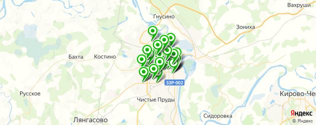 типографии на карте Кирова