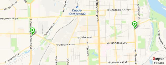 наращивание ногтей акрилом на карте Кирова