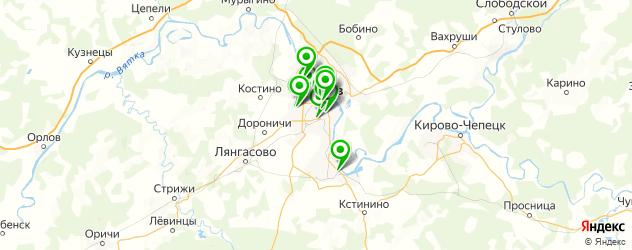 ремонт часовых браслетов на карте Кирова