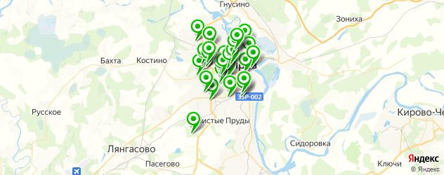 тюнинги-магазины на карте Кирова