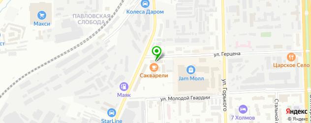 СПА отель на карте Кирова