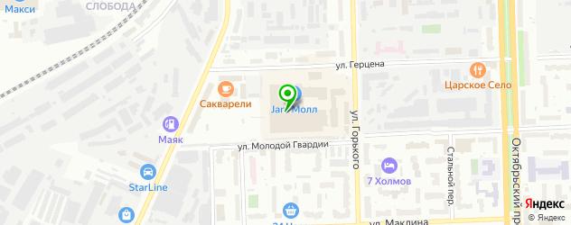 пекарни на карте Кирова