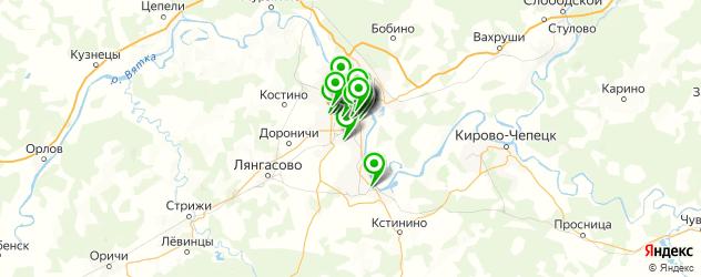 Красота на карте Кирова