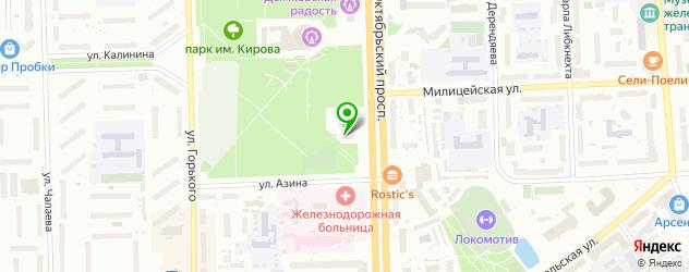 фитнесы с бассейном на карте Кирова
