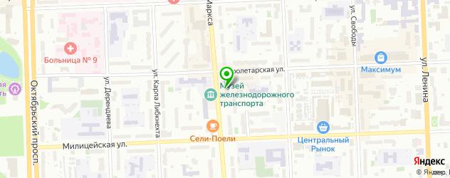 ателье головных уборов на карте Кирова