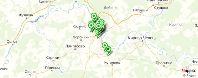 изготовления ключей на карте Кирова