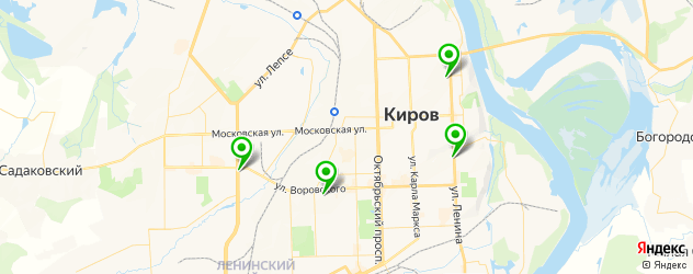 химическое выпрямление волос на карте Кирова
