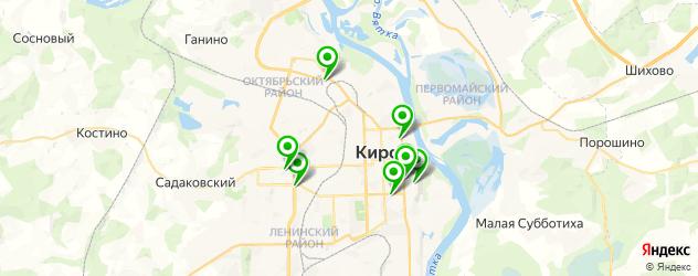 педикюр гель-лаком на карте Кирова