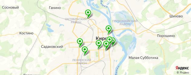 детский маникюр на карте Кирова