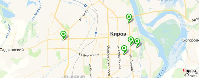 шугаринг на карте Кирова