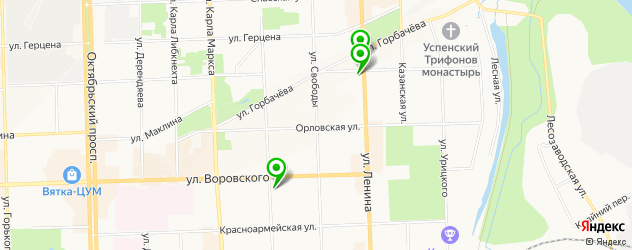 удаление стержневых мозолей на карте Кирова