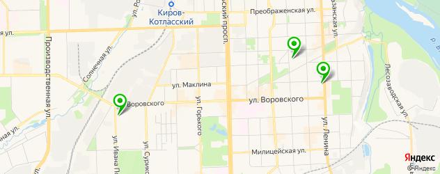 модельные агентства на карте Кирова