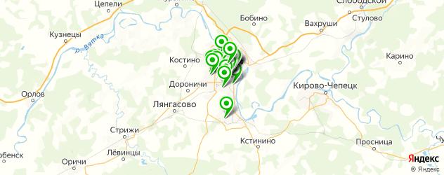 лаборатории анализов на карте Кирова