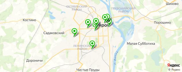 хирургия на карте Кирова
