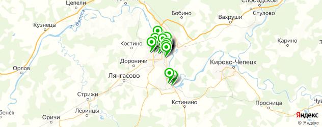 мужской маникюр на карте Кирова