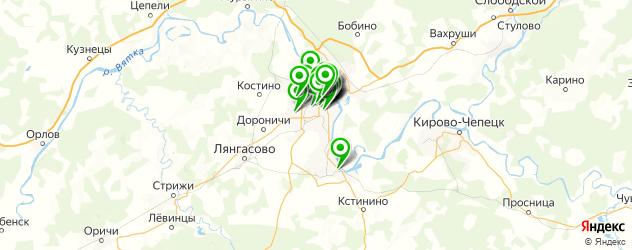эпиляция на карте Кирова
