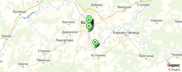парикмахерские на карте улицы Ленина