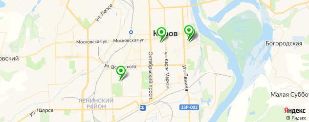 антикафе на карте Кирова