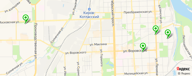 депиляция воском на карте Кирова