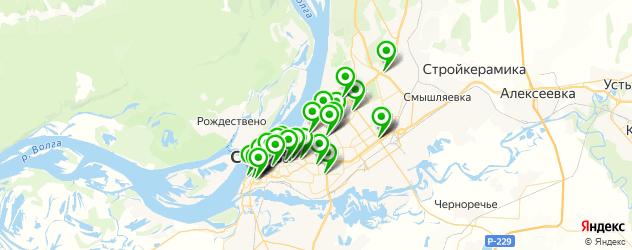 кофейни на карте Самары