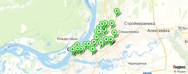 Доставка шашлыка на карте Самары