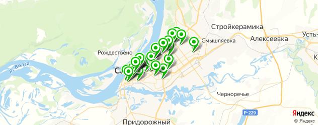 фасты фуд на карте Самары