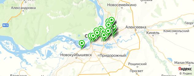 караоке на карте Самары