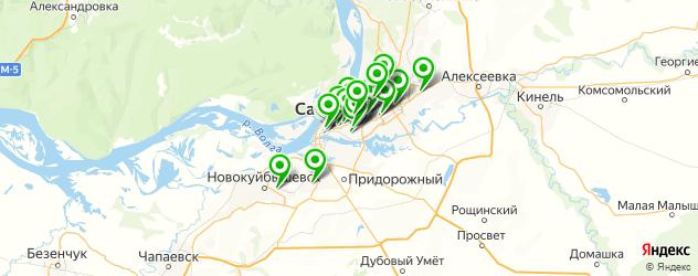 компьютерные помощи на карте Самары