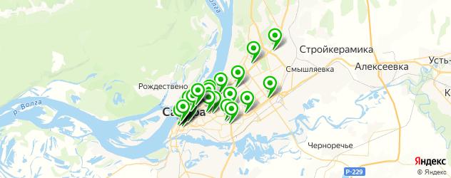 Развлечения на карте Самары