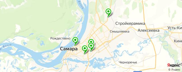 канапе на карте Самары